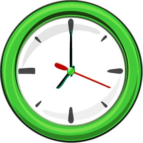 499x499 Wall Clock Clipart Bmnhtcw Clipart Panda