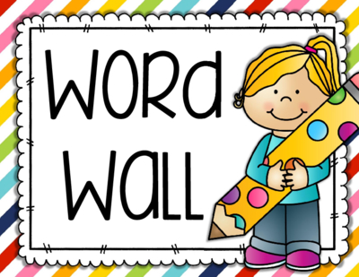 400x309 Wall Clipart Word Wall