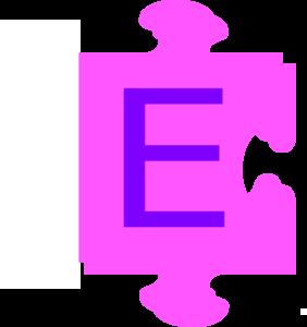 282x300 The Letter H Puzzle.letter E Inside Puzzle Piece Clip Art At Clker