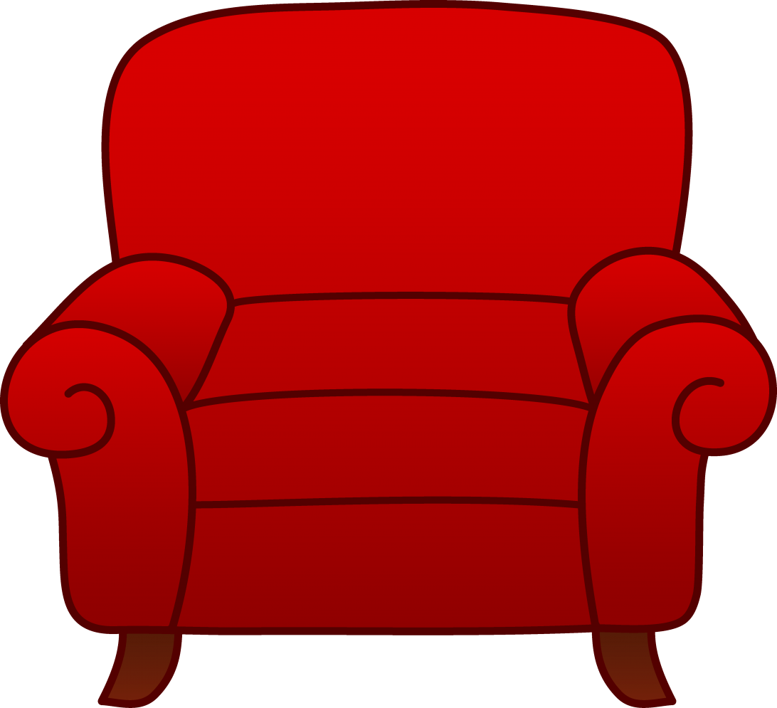 1092x995 Red Armchair Clipart Free Clip Art Couch Covers Walmart Leather Uk