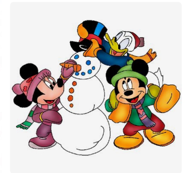750x688 Clip Art Of Disney Christmas 12 48 Clipart