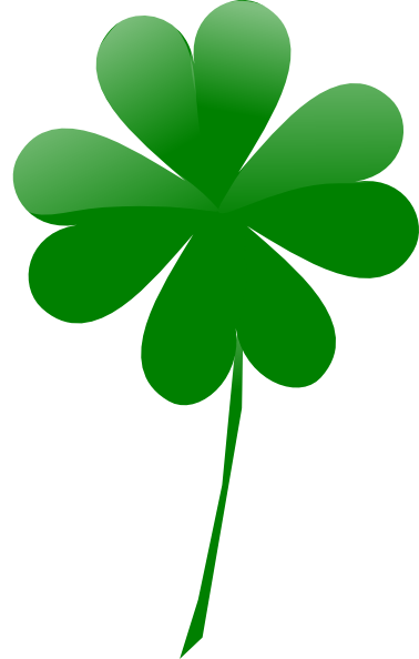 378x594 Wanted 4 Leaf Clover Image Four Shaded Clip Art At Clker Com