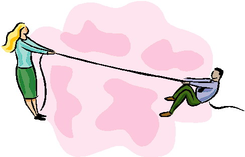488x314 Clip Art Activities Tug Of War