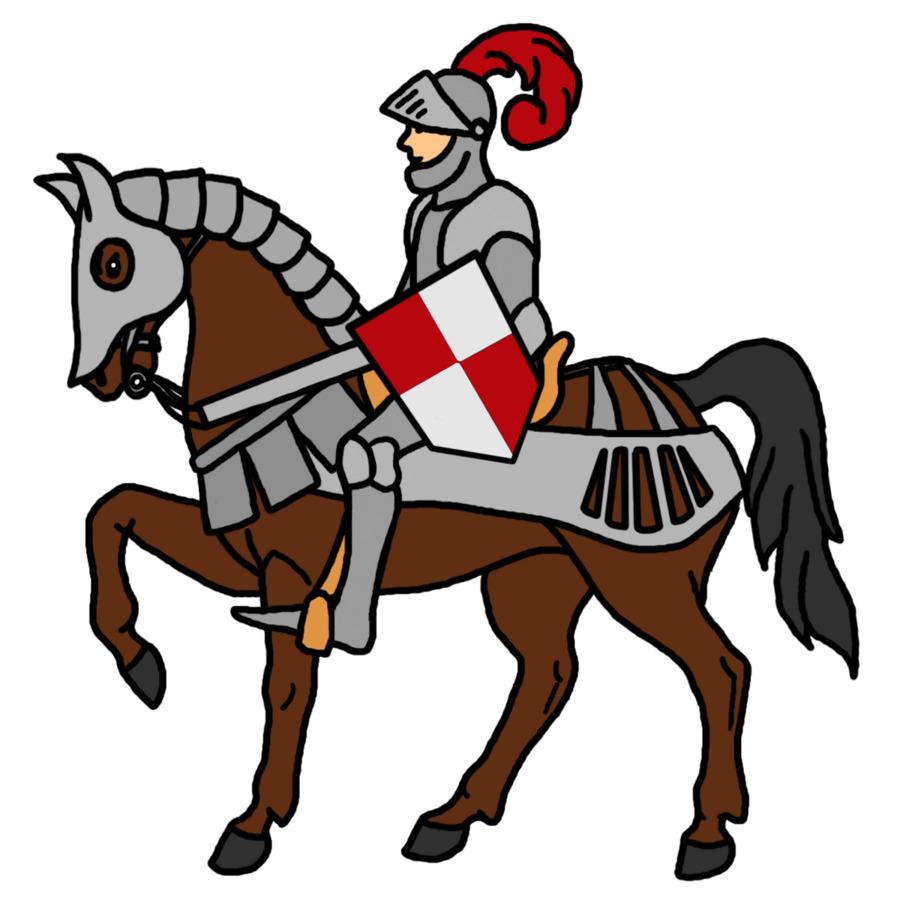 900x900 Knight Crusades Clip Art