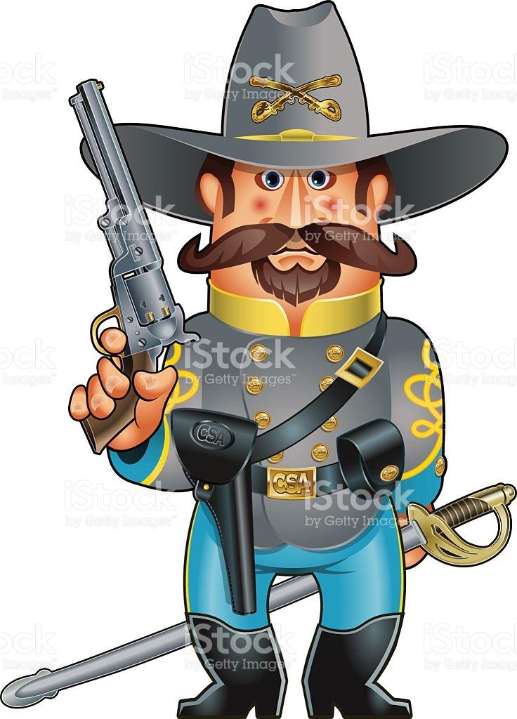 736x1024 Civil War Clipart Cavalry