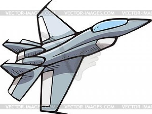 640x480 Jet Fighter Clipart Aeroplanes