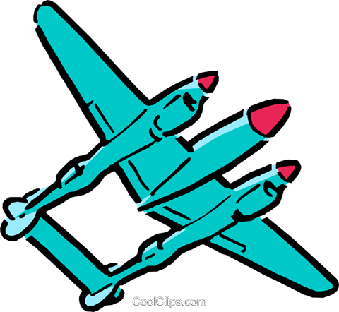 480x442 Cartoon Airplanes Royalty Free Vector Clip Art Illustration