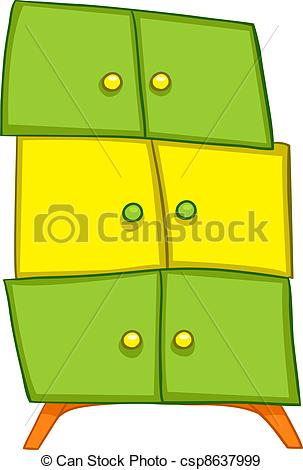 303x470 Cartoons Wardrobe. Cartoon Home Furniture Wordrobe Isolated Eps