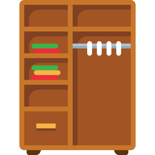 Open Cupboard Clip Art: Wardrobe Clipart At GetDrawings