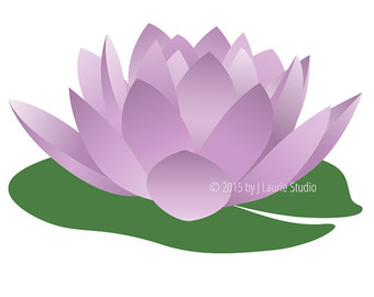 340x270 Clipart Lily Pad