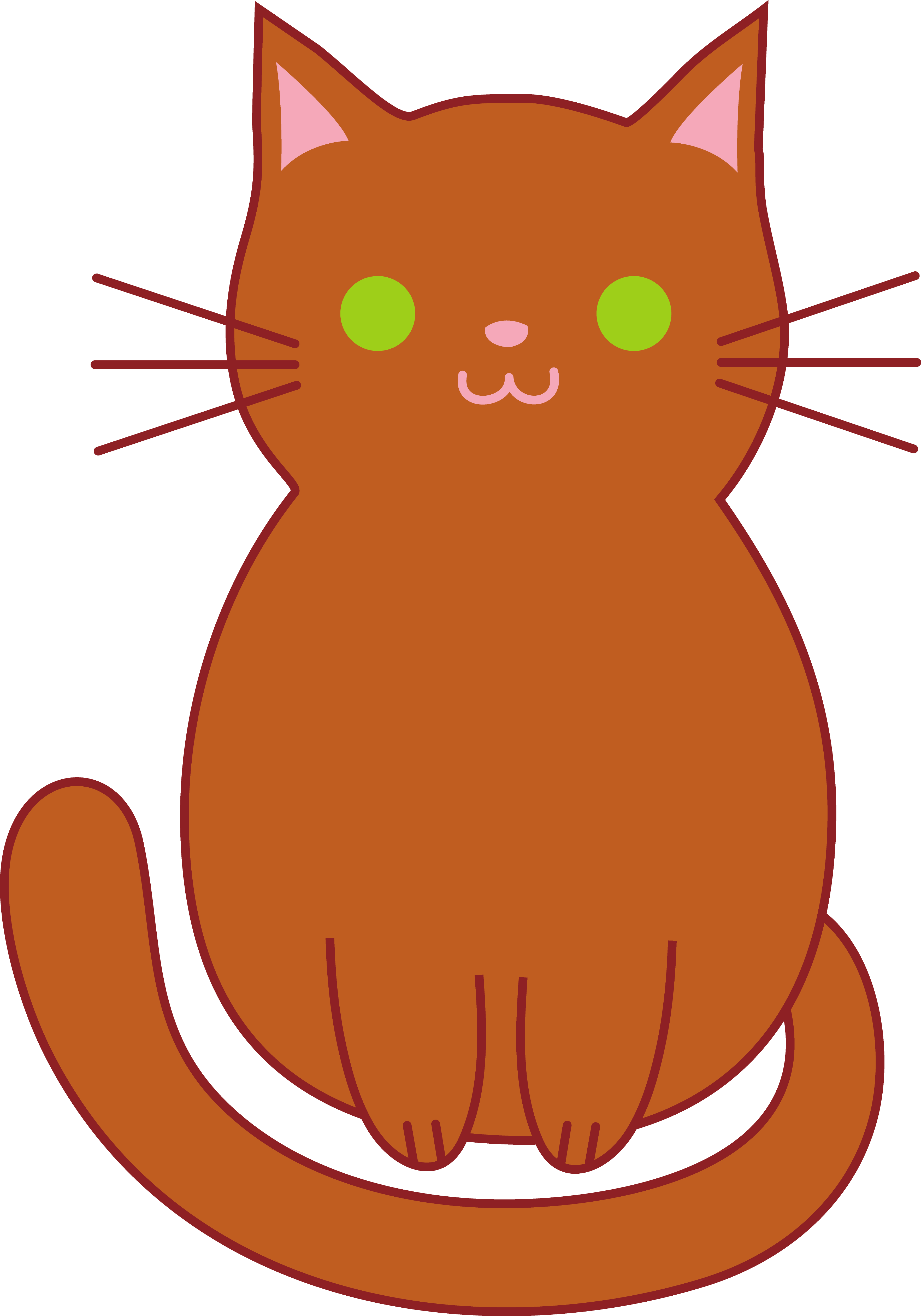 3528x5039 Collection Of Cats Clipart Cartoon High Quality, Free