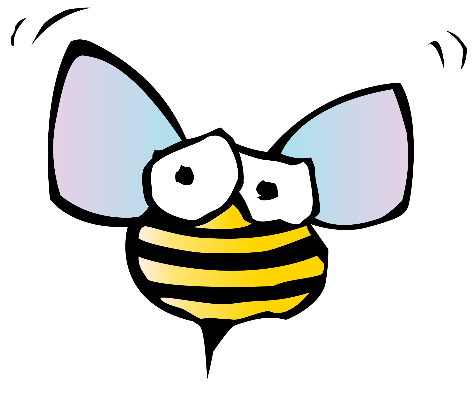 1969x1627 Bees Clipart Warrior