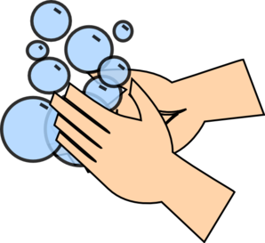 298x273 Hand Washing Clip Art
