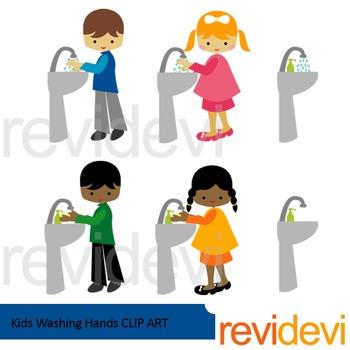 350x350 Washing Hands Clip Art Teaching Resources Teachers Pay Teachers