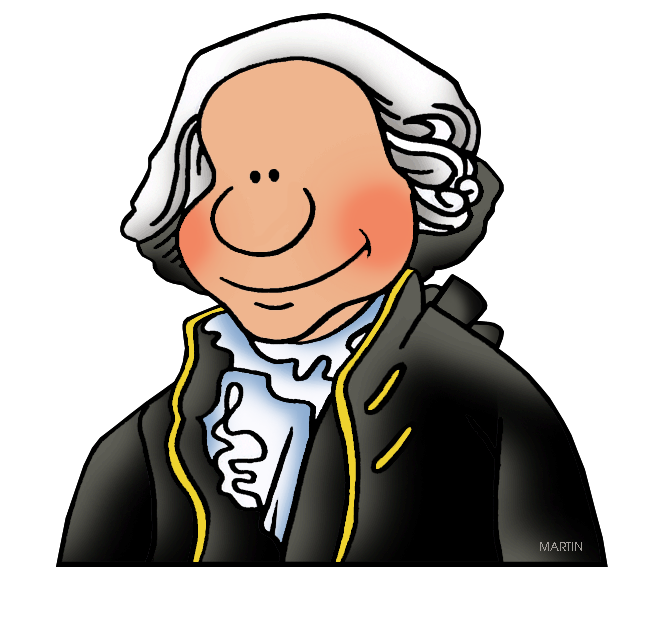 648x618 United States Clip Art By Phillip Martin, Famous People
