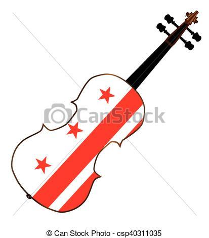 413x470 Washington Dc Fiddle. A Typical Violin With Washington Dc