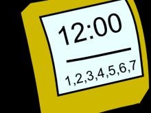 220x165 Watch Clipart Free Watch Clip Art