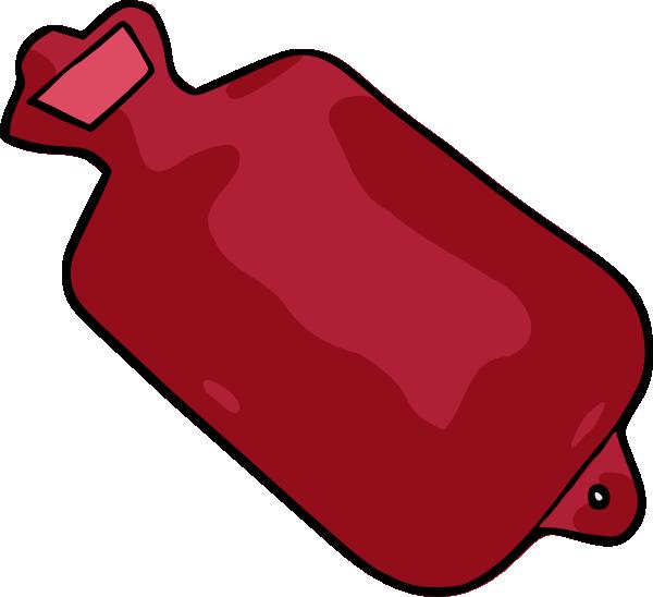 600x548 Hot Water Bottle Clip Art