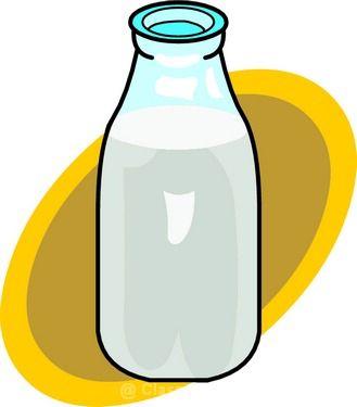 329x375 Milk Bottle Clipart