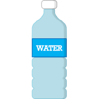 200x200 Collection Of Water Bottle Clipart Transparent High Quality