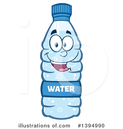 400x420 Water Bottle Clipart Cartoon