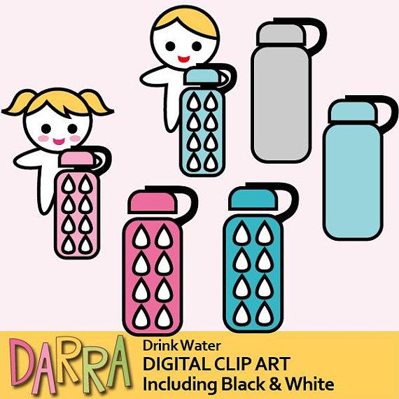 570x570 Water Bottle Clipart Drink Water Clip Art Keep Hydrate