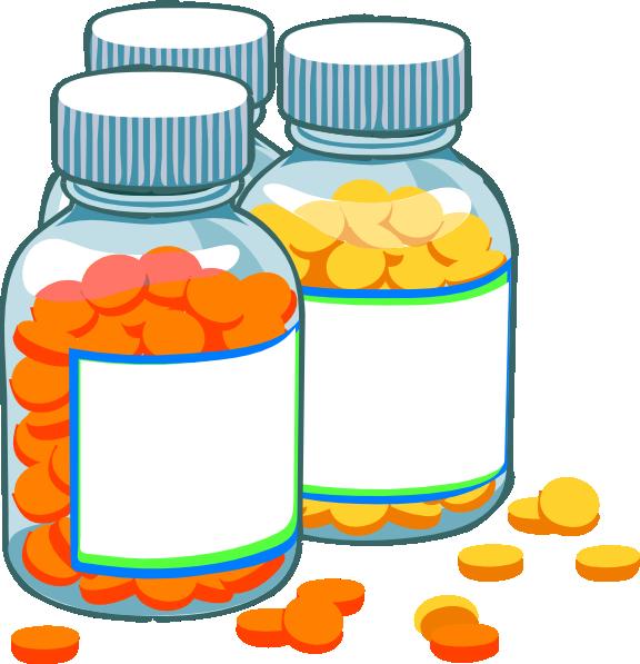 576x597 Blank Medicine Bottles Clip Art At Clker Com Vector Clip Art