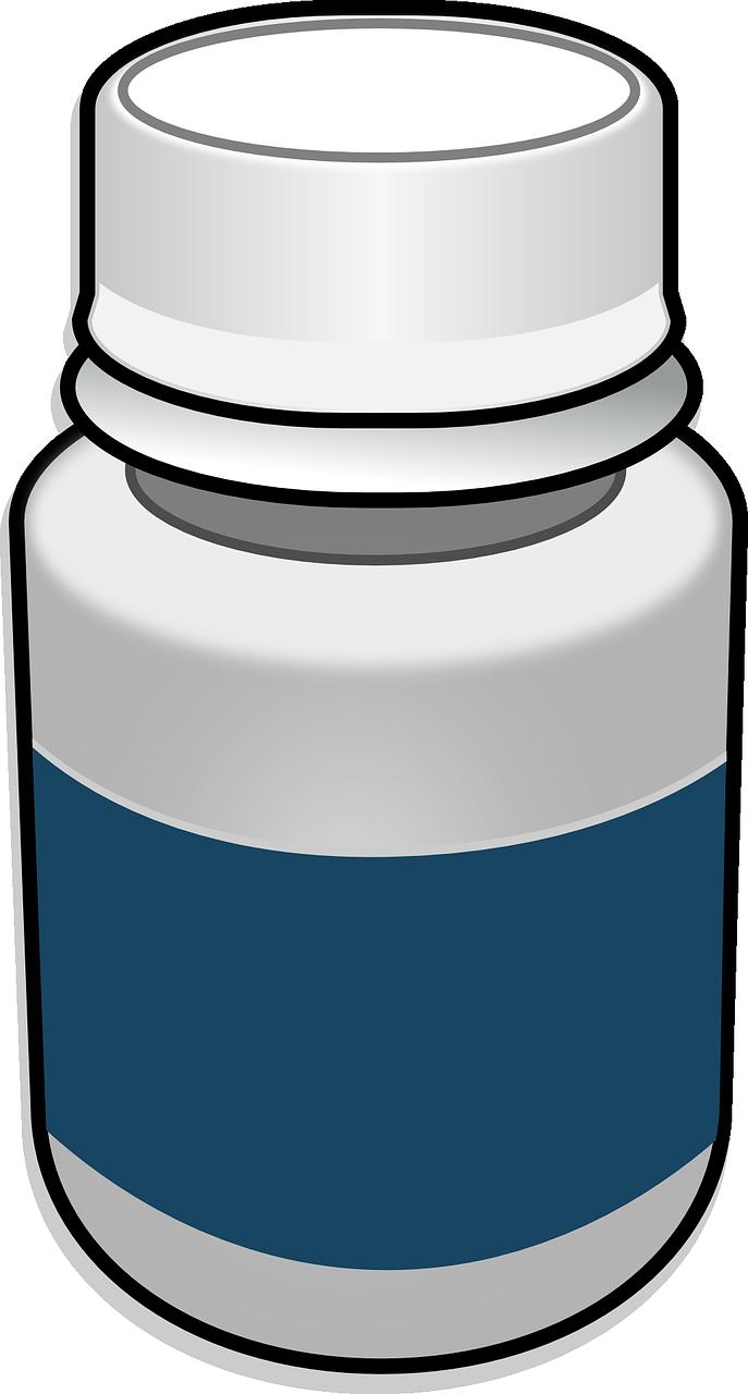 687x1280 Bottle Clipart Medication