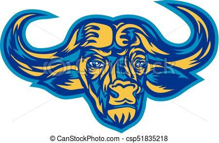 450x294 Buffalo Head Drawing