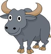 170x180 Free Buffalo Clipart