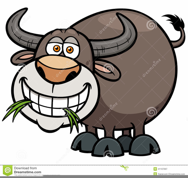 600x567 Free Clipart Water Buffalo Free Images