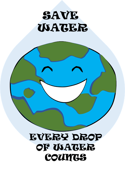 437x600 Poster For Water Conservation Free Cliparts Water