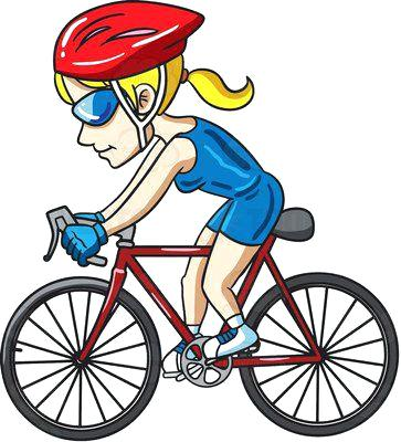 363x400 Cyclist Clip Art Vector Stock Cyclists Vector Illustration For You