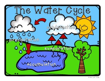350x270 Water Cycle Poster Classroom Display And Practice Worksheets Tpt