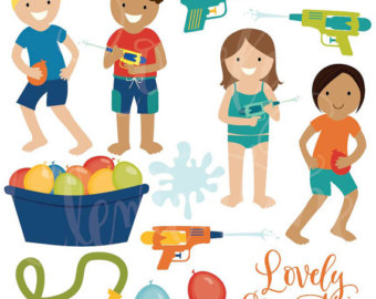 340x270 Clever Design Ideas Water Play Clipart Gun Etsy