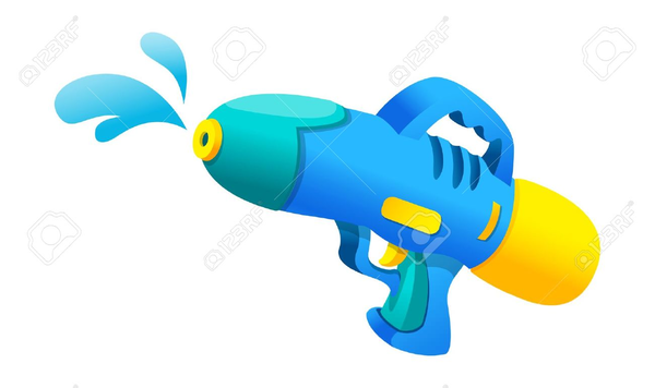 600x356 Clipart Water Pistol Free Images