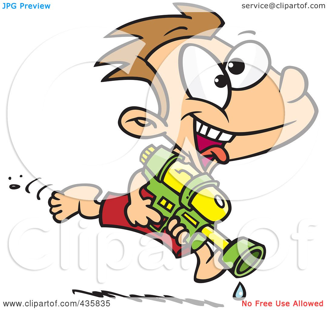 1080x1024 Royalty Free (Rf) Clipart Illustration Of A Playful Boy Running