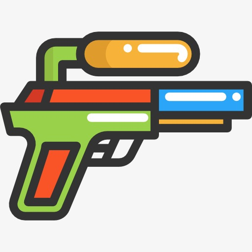 512x512 A Toy Gun, Water Gun, Toy, Cartoon Png Image And Clipart For Free