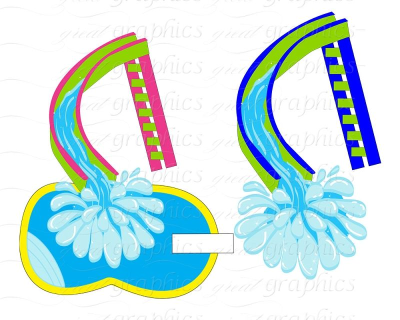 water slide clipart at getdrawings com free for personal use water rh getdrawings com water slide clipart images Water Park Slides Clip Art