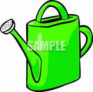 300x297 A Green Watering Can