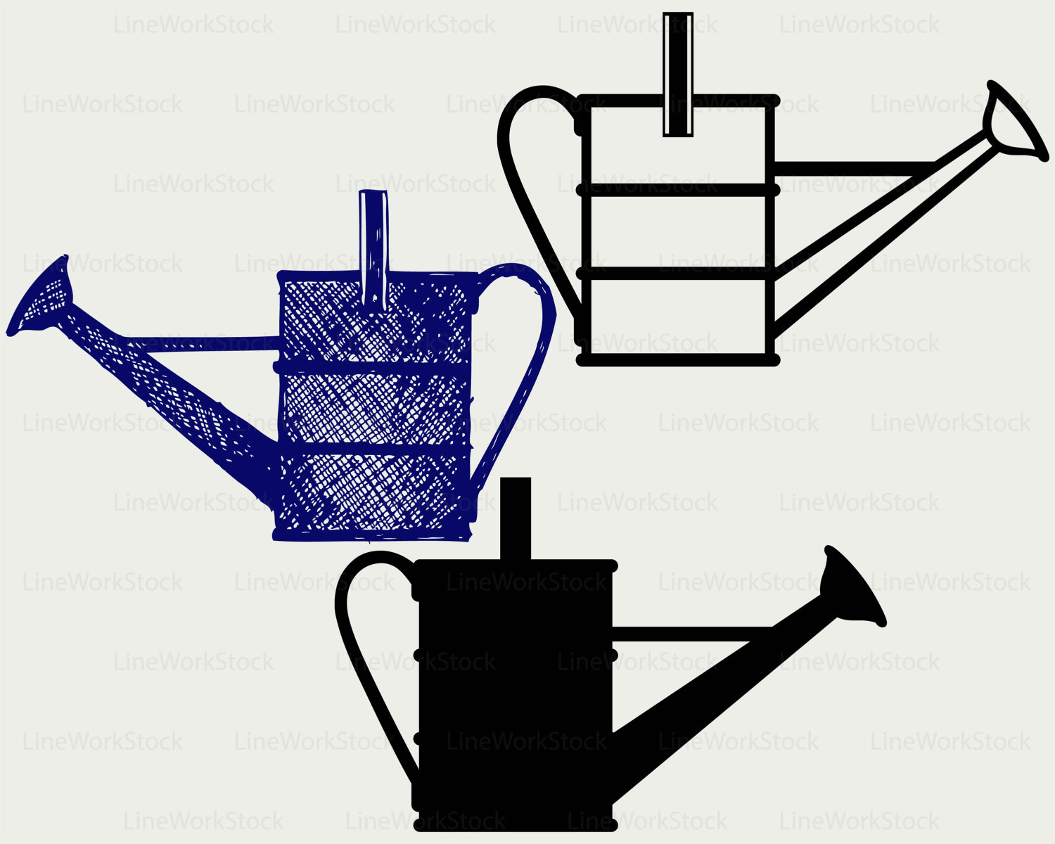 1500x1200 Watering Can Svgwatering Clipartwatering Svgwatering Silhouette