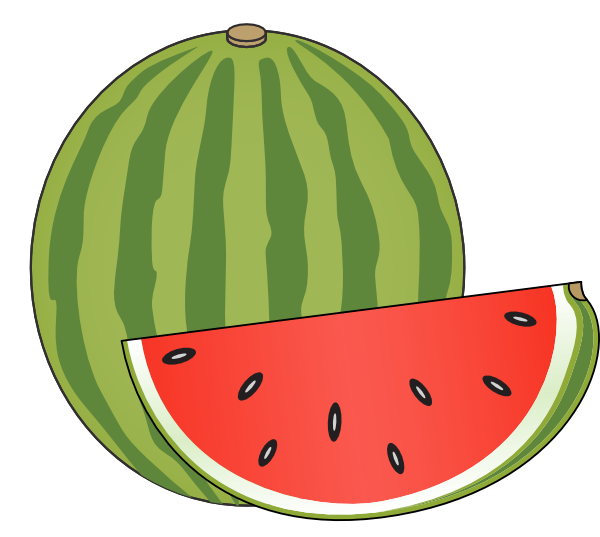 600x537 Watermelon Clip Art