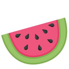 236x236 Watermelon Cut Files + Clip Art Watermelon Cutting, Clip Art