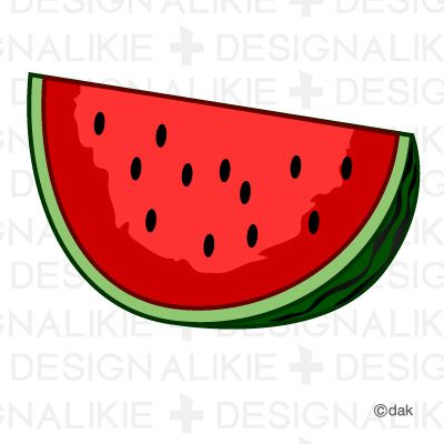 400x400 Amazing Watermelon Clipart