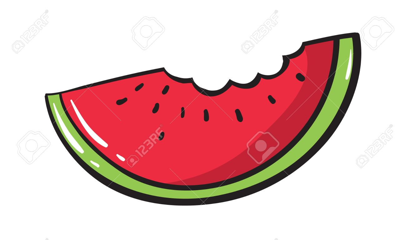1300x771 Watermelon Clip Art