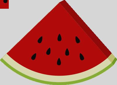 400x292 Clip Art Watermelon
