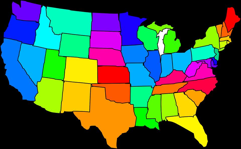 960x593 The Ten Happiest And Least Happy States In America 100.5 Kwiq