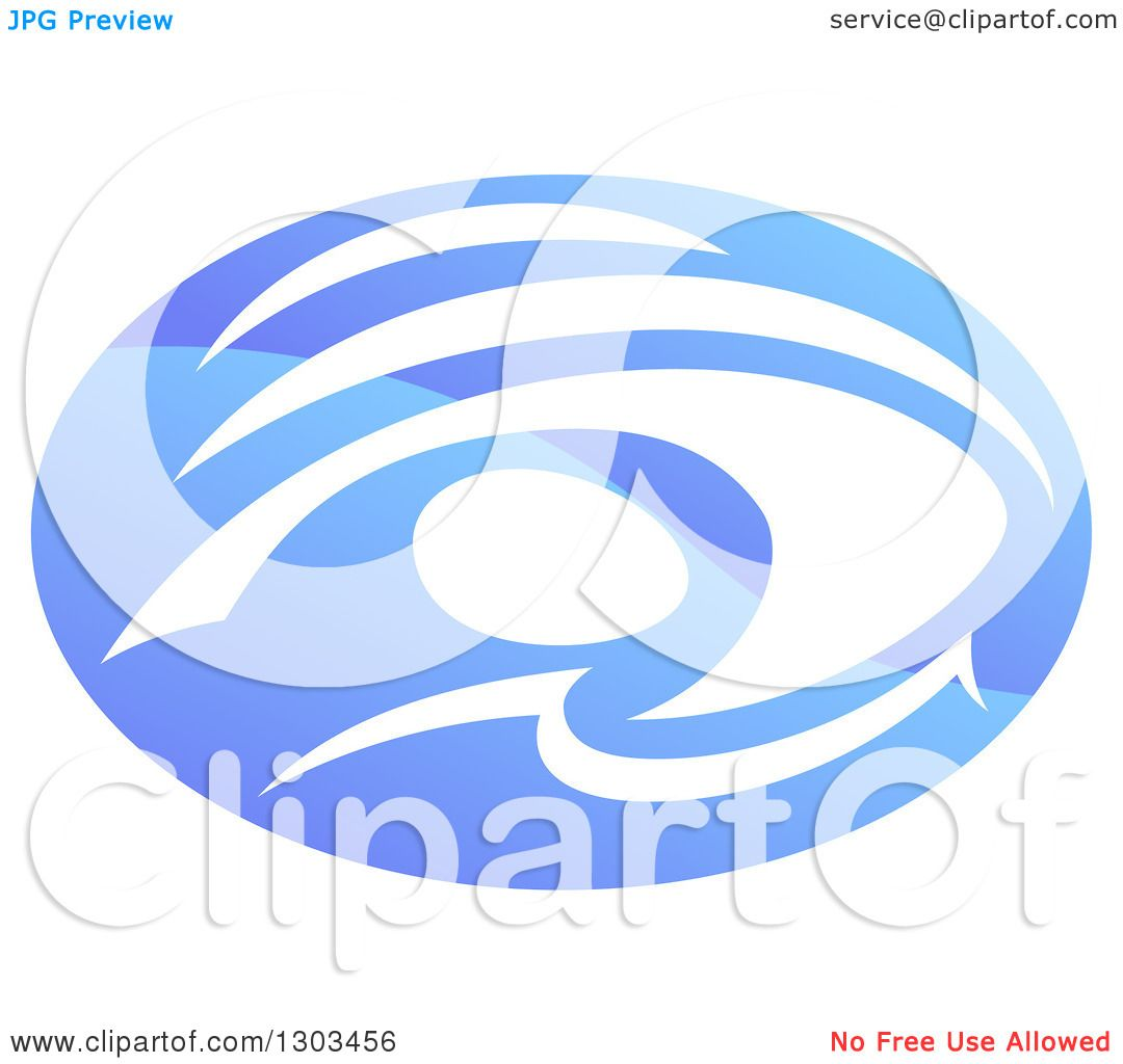1080x1024 Clipart Of A Shiny Gradient Blue Abstract Swimmer Doing