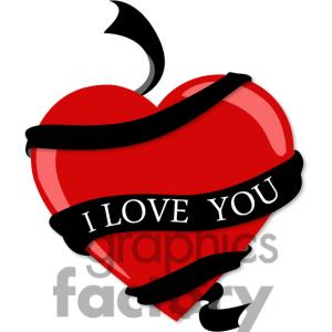 300x300 I Love You Clipart Black And White Clipart Panda