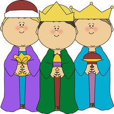 We Three Kings Clipart